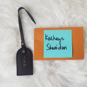 LOUIS VUITTON GRACEFUL DAMIER EBENE LUGGAGE TAG